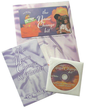 name change kit planner-name change kit for brides & marriage name change software