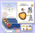 my mom getting married announcement kit - my dad is getting married announcement kit