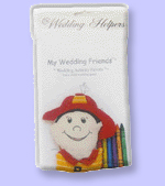 wedding favor for child wedding guests at wedding reception